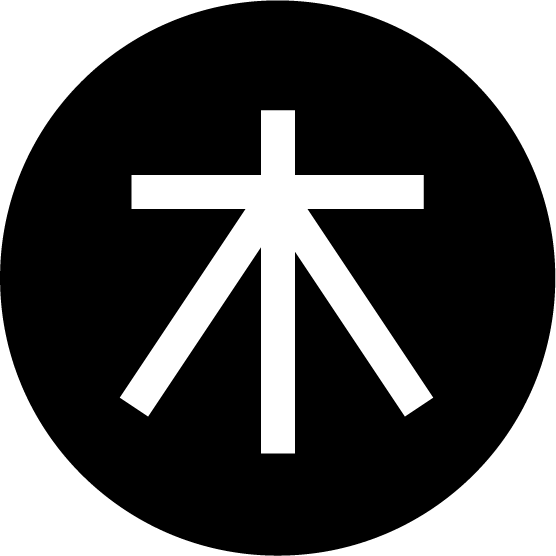 木曜日の丸アイコンイラスト(白黒)