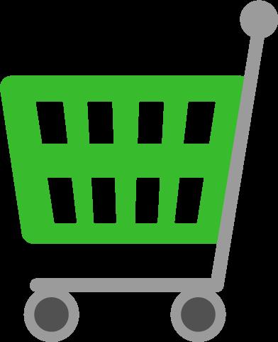 ショッピングカートのアイコンイラスト