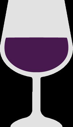 ワインのアイコンイラスト