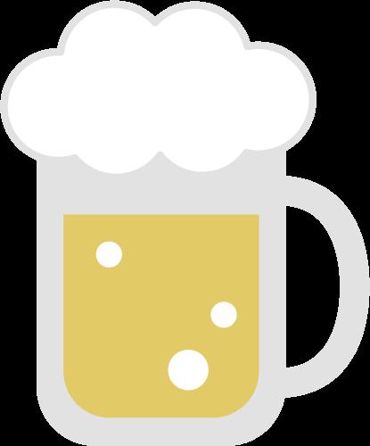 ビールのアイコンイラスト2