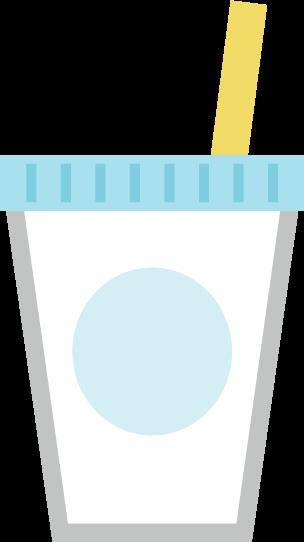 飲み物のアイコンイラスト