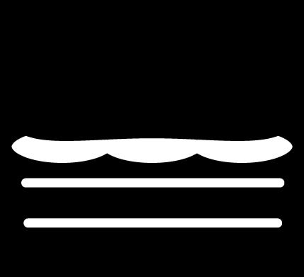食べ物のアイコンイラスト(白黒)
