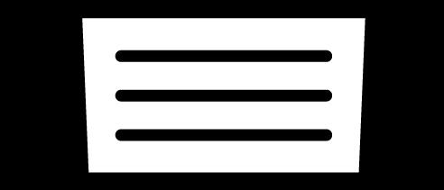 マスクのアイコンイラスト(白黒)