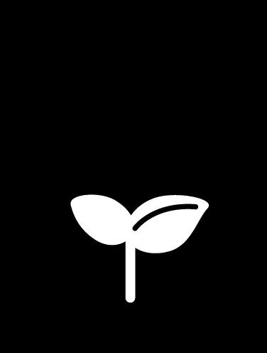 エコバッグのアイコンイラスト(白黒)