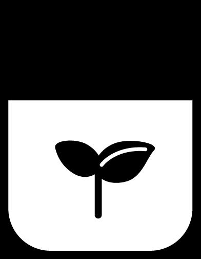 エコバッグのアイコンイラスト(白黒・線)