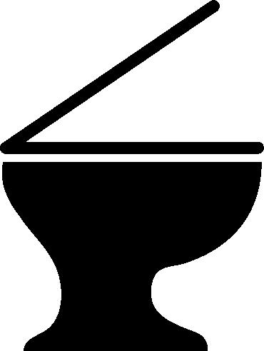 洋式トイレのアイコンイラスト1(白黒)