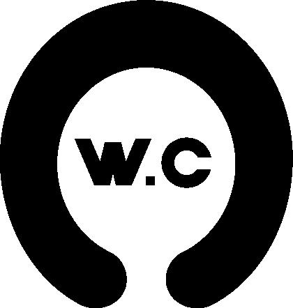 洋式トイレのアイコンイラスト2(白黒)
