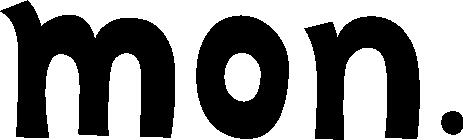 英語で月曜日(mon.)の文字のイラスト