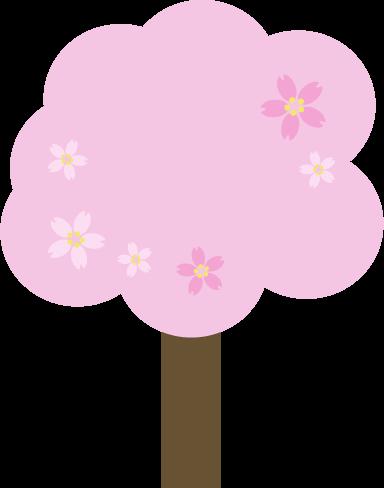 桜の木のイラスト2