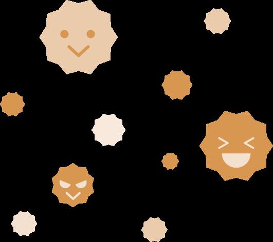 花粉のイラスト1