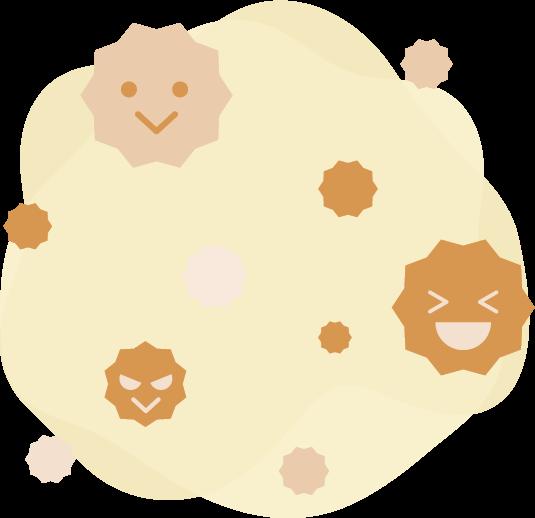 花粉のイラスト2