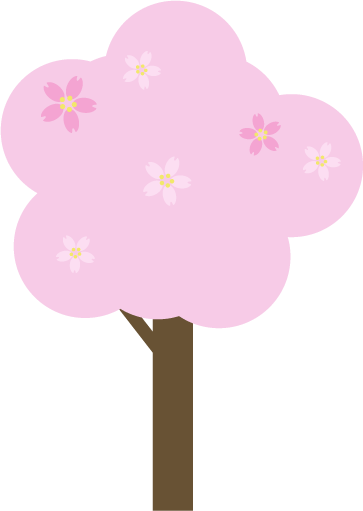 桜の木のイラスト1