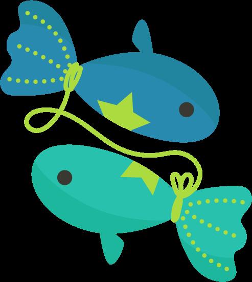 魚座のイラスト(12星座)