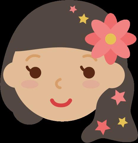 乙女座のイラスト(12星座)