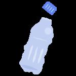 ペットボトルのプラゴミのイラスト
