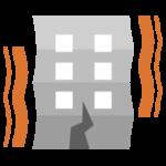 地震アイコンのイラスト