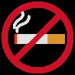 煙草の禁煙アイコンイラスト(カラー)