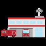 消防署のイラスト(出動)