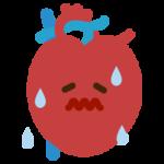 心臓のイラスト(炎症)2