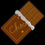板チョコのイラスト(パッケージ)
